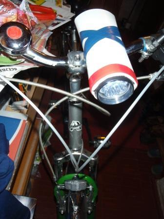 Мощный велофонарь своими руками 19