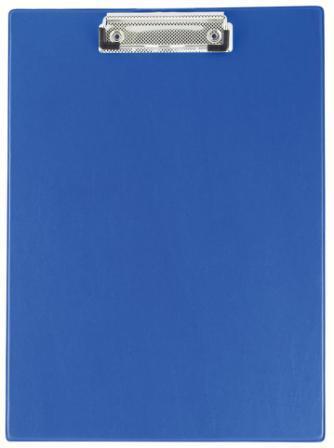 Планшет з кліпом Buromax (формат А4, PVC, колір синій), Планшетка, Планшет з притиском, Секретарська дошка, Clipboard, Кліпборд А4, Кліпбоард А4