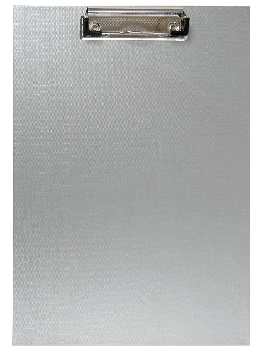 Планшет з кліпом Buromax (формат А4, PVC, колір сірий), Планшетка, Планшет з притиском, Секретарська дошка, Clipboard, Кліпборд А4, Кліпбоард А4