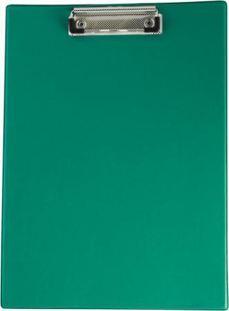 Планшет з кліпом Buromax (формат А4, PVC, колір зелений), Планшетка, Планшет з притиском, Секретарська дошка, Clipboard, Кліпборд А4, Кліпбоард А4