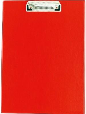Планшет з кліпом Buromax (формат А4, PVC, колір червоний), Планшетка, Планшет з притиском, Секретарська дошка, Clipboard, Кліпборд А4, Кліпбоард А4