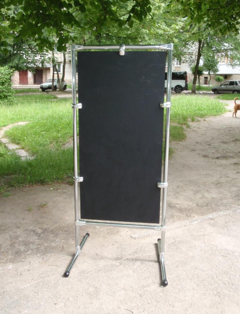 Штендер T-подібний, L-подібний, прямокутний крейдовий