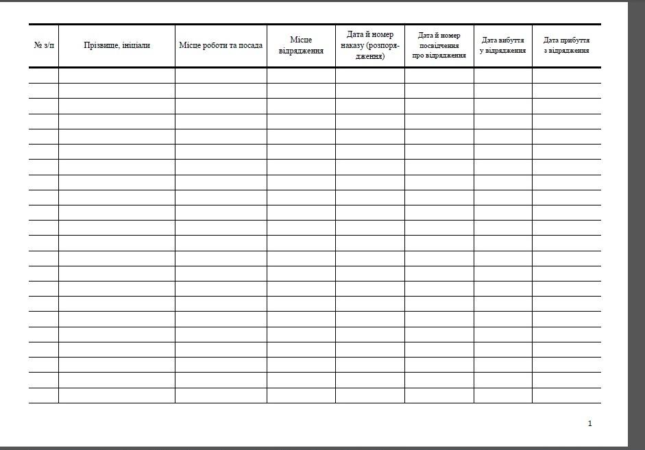 Журнал реєстрації наказів про відрядженя, форма Журнал реєстрації наказів про відрядження зразок, Журнал обліку наказів про відрядженя, форма Журналу обліку наказів про відрядженя, Журнал обліку наказів про відрядження зразок, Книга реєстрації наказів про відрядженя, форма Книги реєстрації наказів про відрядженя, Книга реєстрації наказів про відрядження зразок, Книга обліку наказів про відрядженя, форма Книги обліку наказів про відрядженя, Книга обліку наказів про відрядження зразок
